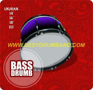 jual alat marching band lengkap sd bass