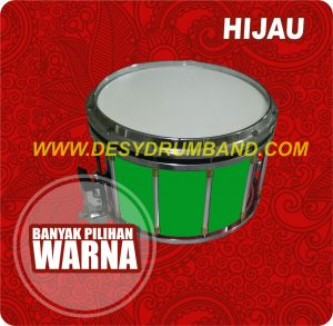 jual marchingband smp terbaik snare hijau