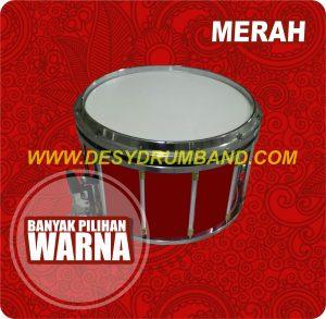 jual marchingband smp terbaik snare merah