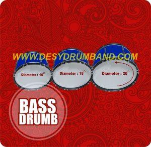 jual peralatan drumband sd bass di bantul
