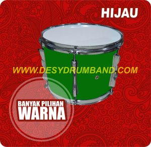jual peralatan drumband snare hijau di bantul