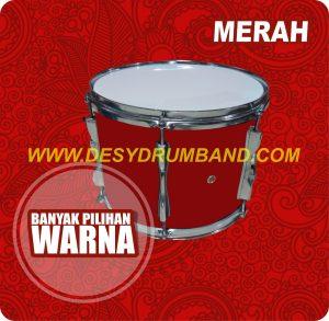 jual peralatan drumband snare merah di bantul