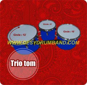 jual peralatan drumband trio tom di bantul