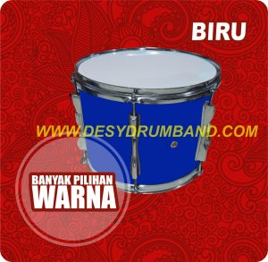 jual peralatan drumband snare biru di bantul